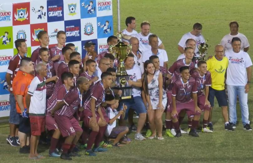 Flamengo de Campo Bom foi campeão da categoria sub-17