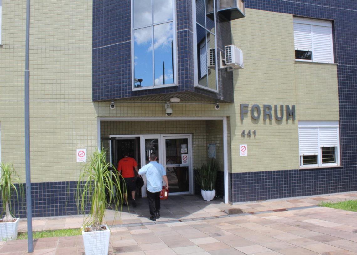 Processos estão  no Fórum  de Sapiranga Foto: Taylor Abreu