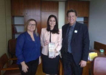 Cleidiane Sanmartim, Liziane Bayer e Luciano Orsi