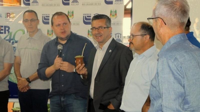 Covatti Filho ressaltou as ações e políticas públicas fomentadas para minimizar os resultados da estiagem.