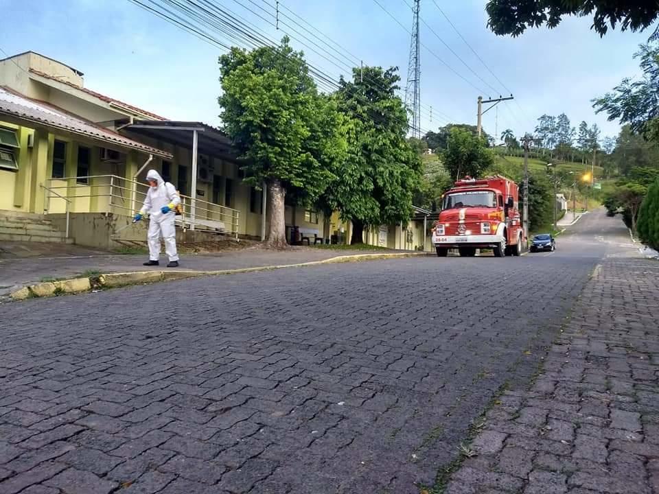 Fotos: Bombeiros voluntários de Nova Hartz.