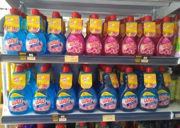 Produtos para higiene e desinfecção registram alta procura - Foto: Reprodução .