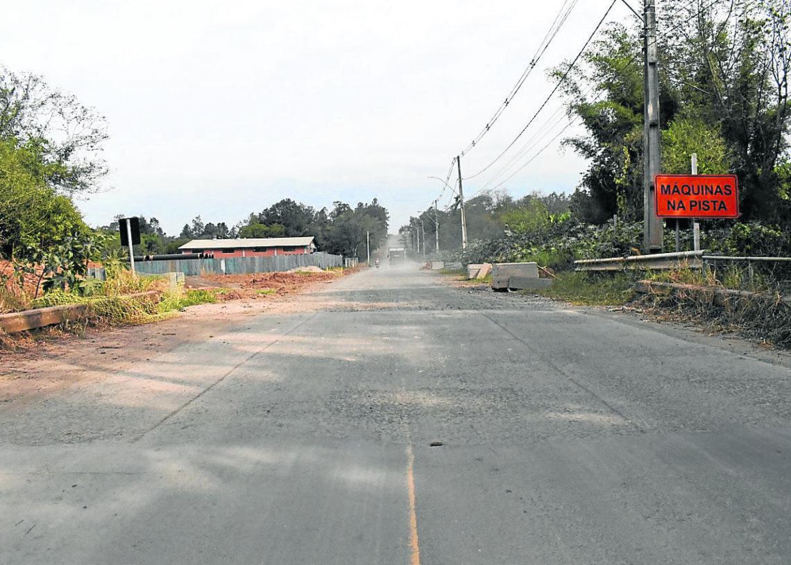 Rua Dois de Dezembro faz importante ligação do Centro à RS-239 -  Foto: JR/Arquivo.
