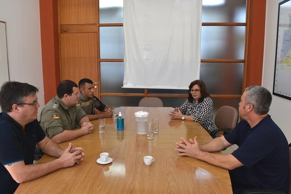 Reunião ocorreu na última terça-feira  -Foto: PMS .