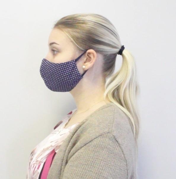 1 - Forma CORRETA: A máscara deve cobrir completamente nariz e o queixo