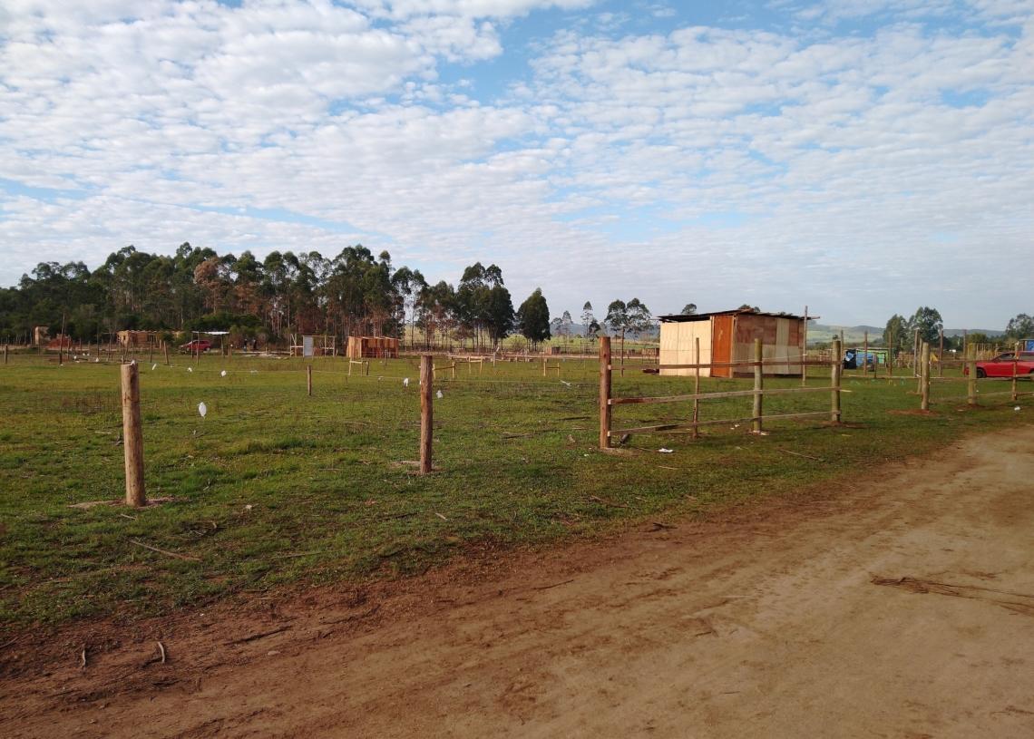Área que está loteada e com compradores definidos no antigo aeroclube de Sapiranga Fotos: Grupo Repercussão