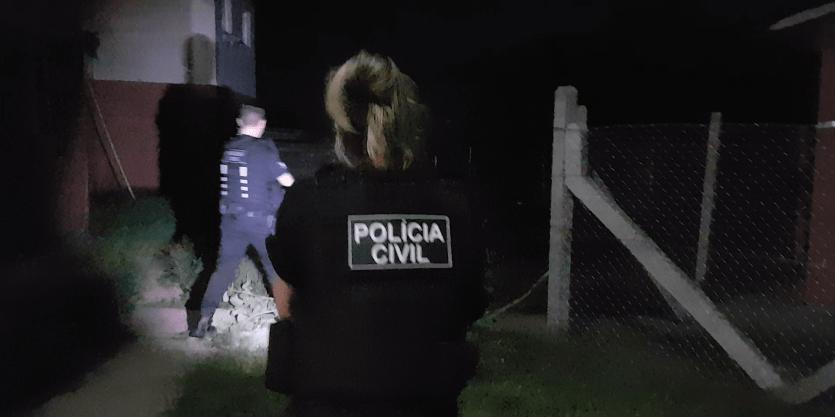 177 pessoas já foram presas até agora pelos agentes Foto: Divulgação/Polícia Civil