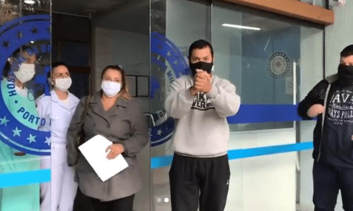 BM se recuperou do coronavírus e pode voltar para casa após 23 dias internado Foto: Reprodução/Instagram