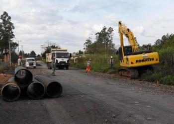 Obras têm previsão de conclusão para dezembro | Fotos: Keila Massaia/PMNHZ