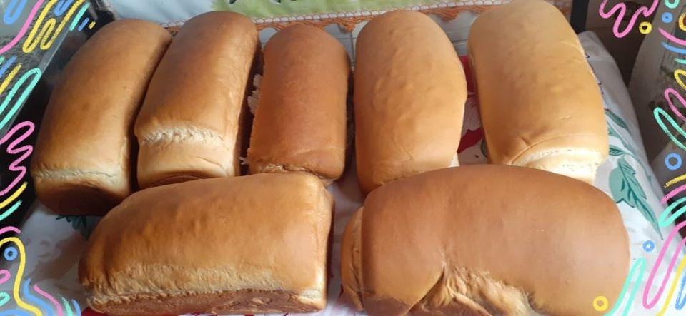 Atualmente, Cátia consegue fazer até 12 pães por vez Foto: Arquivo Pessoal
