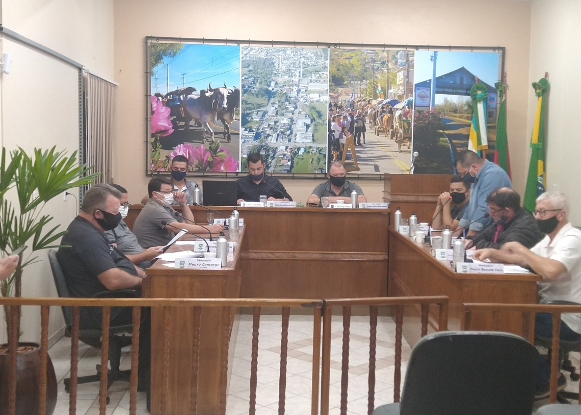Vereadores reunidos durante sessão desta semana Foto: Deivis Luz
