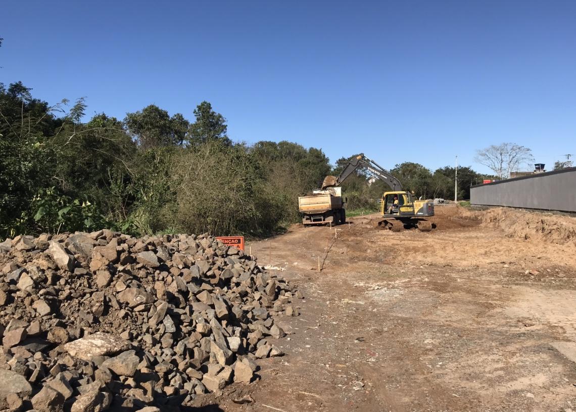 Prefeitura acredita que obras na Av. Mauá devem ser concluídas com antecedência Foto: Henrique Ternus