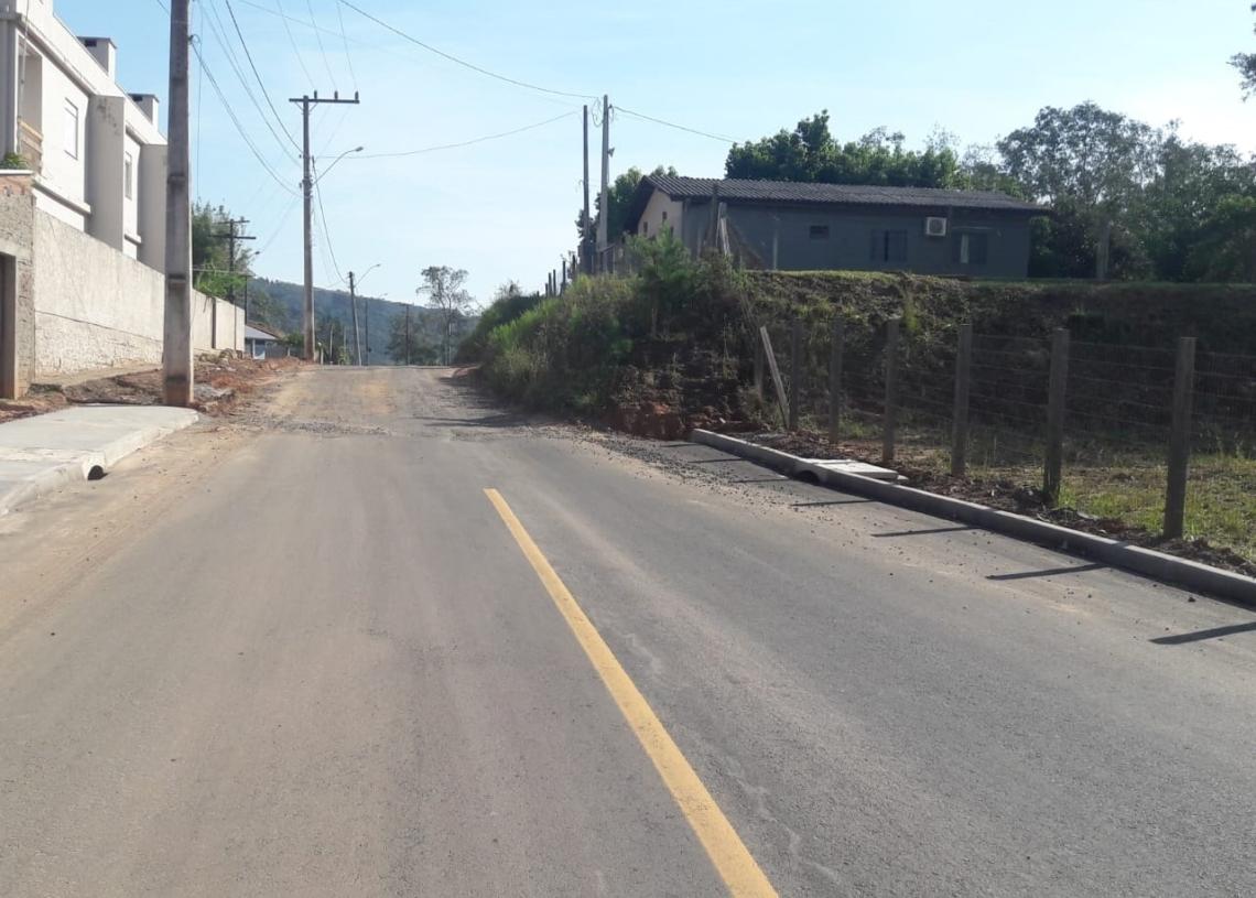 Endereço mencionado na reportagem está situado em ponto do travessão já no bairro Centenário  Foto: Fábio Radke
