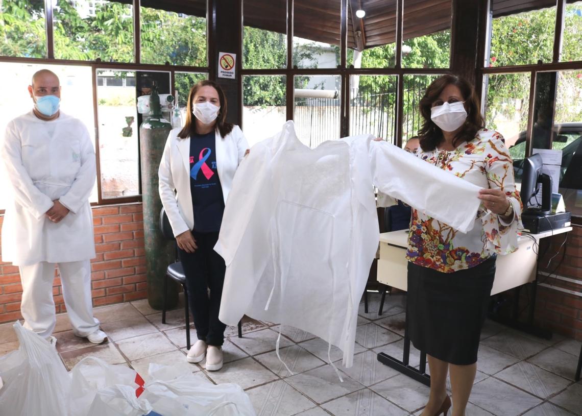 Diversos novos EPIs foram adquiridos Foto: Prefeitura de Sapiranga
