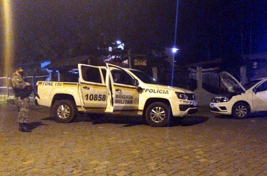 Abordagem e prisão ocorreram em Canela (Cred. Brigada Militar)