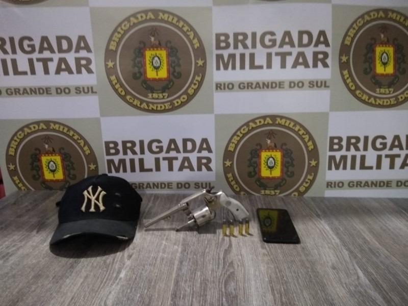 Arma apreendido (Cred, Brigada Militar)