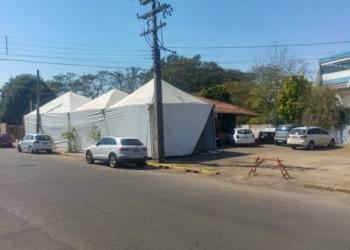 Centro de Referências em Síndromes Gripais de Sapiranga está localizado na Av. 20 de Setembro Foto: Henrique Ternus