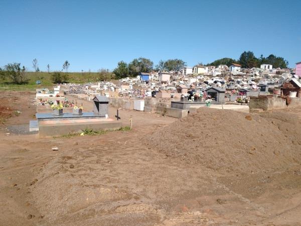 Cemitério municipal de Nova Hartz passa por investimentos e adequações  Foto: Deivis Luz