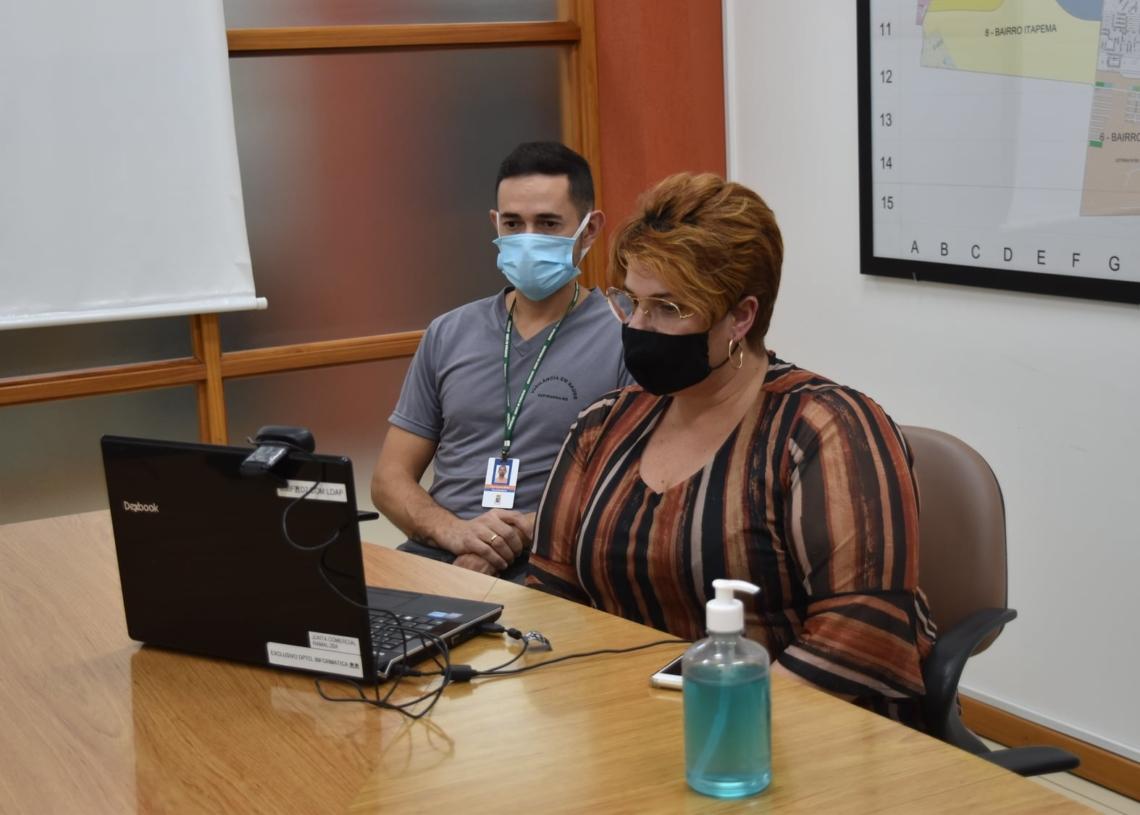 Teleconferências tem sido frequentes por parte da Amvars para discutir questões relacionadas a pandemia  Foto: Prefeitura de Sapiranga