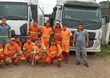 Onze conta com 35 colaboradores, quatro caminhões para resíduo orgânico e três para lixo seco  Foto: Divulgação
