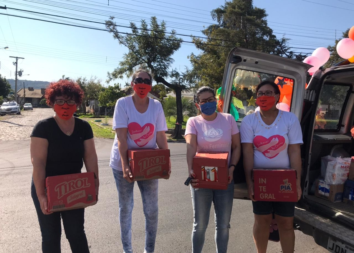 Grupo arrecadou 400L de leite   Foto: Arquivo pessoal