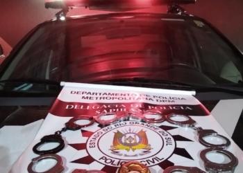 Sexta-feira com ações e cinco prisões da Polícia Civil (Cred. DP de Sapiranga)