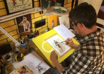 Mauro Vila Real dedicou estudo e criatividade para a criação da identidade visual | Foto: Maria Clara Vila Real