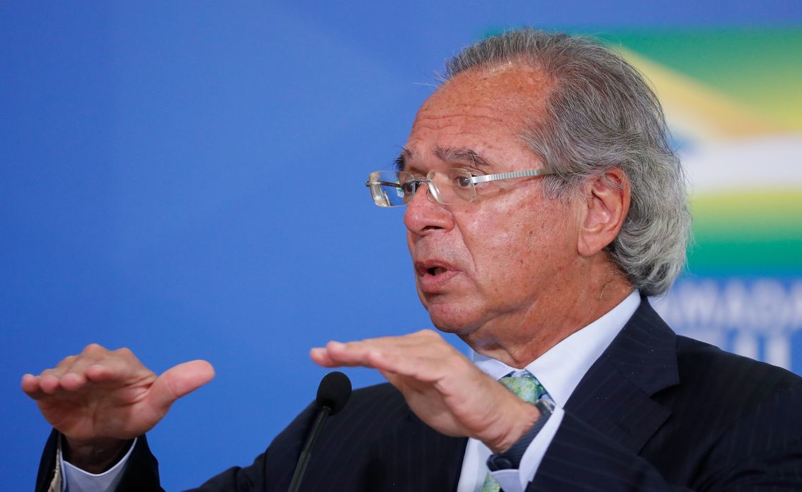 (Brasília - DF, 19/08/2020) Solenidade de Sanção de Medidas Provisórias de Facilitação de acesso ao Crédito. Foto: Alan Santos/PR
