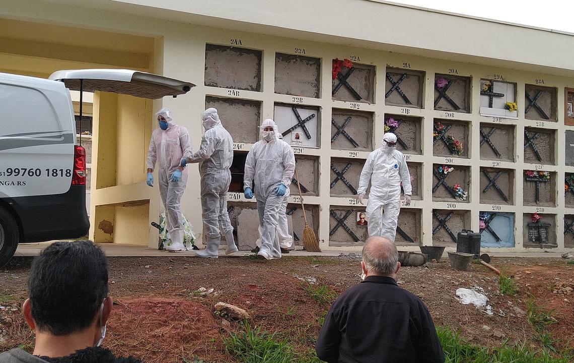 Sapiranga registra mais de 40 mortes por coronavírus  Foto: Deivis Luz