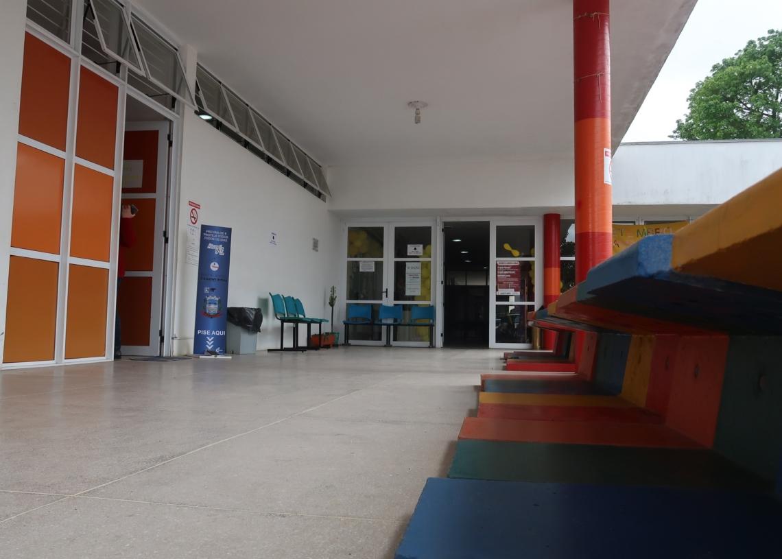Prédio do CAPS, próximo do Hospital Dr. Lauro Reus, abrigará o Plantão 24 horas Foto: Daniela Moraes/PMCB