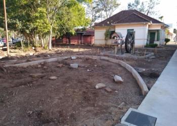 Contrapartida do município na revitalização é de R$ 10 mil. Valor é resultado da Consulta Popular de 2019  Foto: Deivis Luz