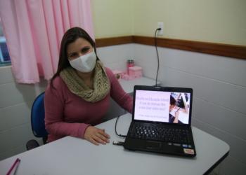Angélica foi uma das palestrantes do primeiro dia de capacitações Foto: Divulgação/PMCB