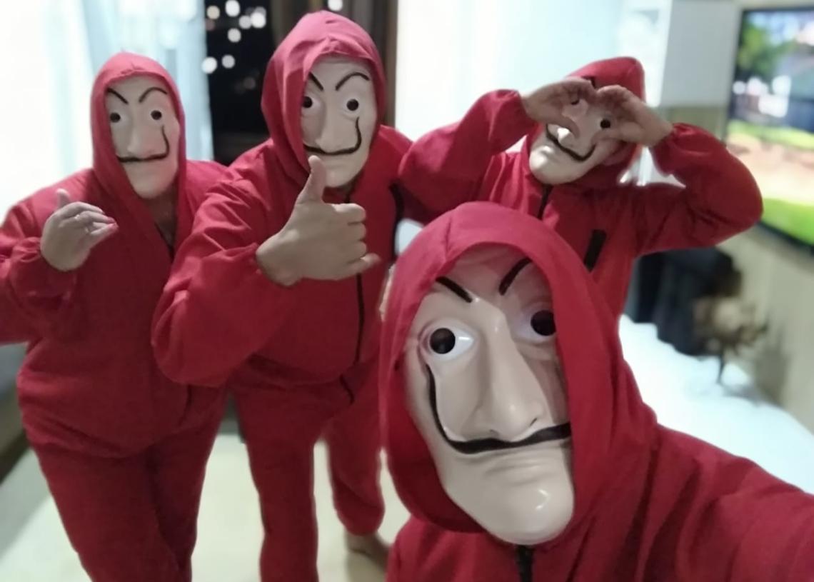 Os quatro amigos que se uniram em prol dos mais necessitados Foto: Divulgação