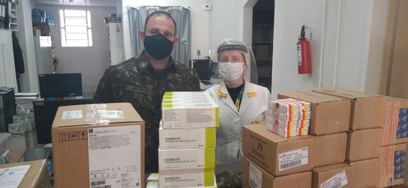 A Secretaria Estadual definiu os hospitais contemplados e o volume de medicamentos a ser distribuído. Foto: Divulgação/SES