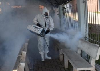 Locais públicos foram higienizados para evitar disseminação da Covid-19 | Fotos: PMS