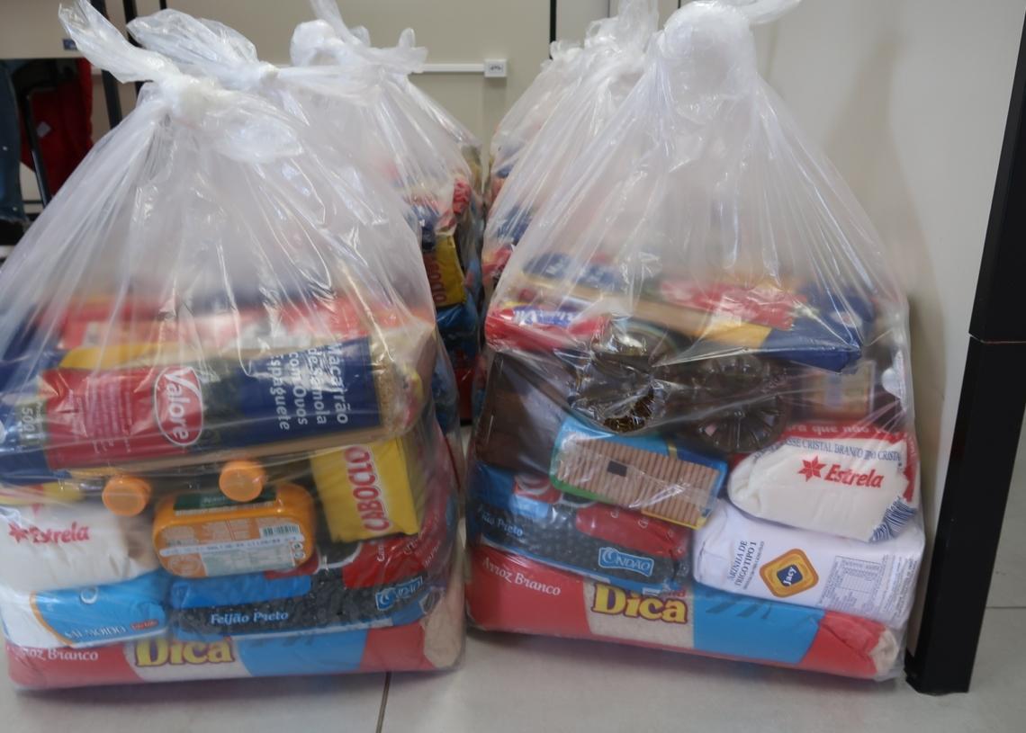 Alimentos de primeira necessidade são entregues para famílias em situação de vulnerabilidade social Foto: Prefeitura de Campo Bom
