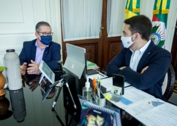 Governador e secretário Ranolfo | Foto: Gustavo Mansur