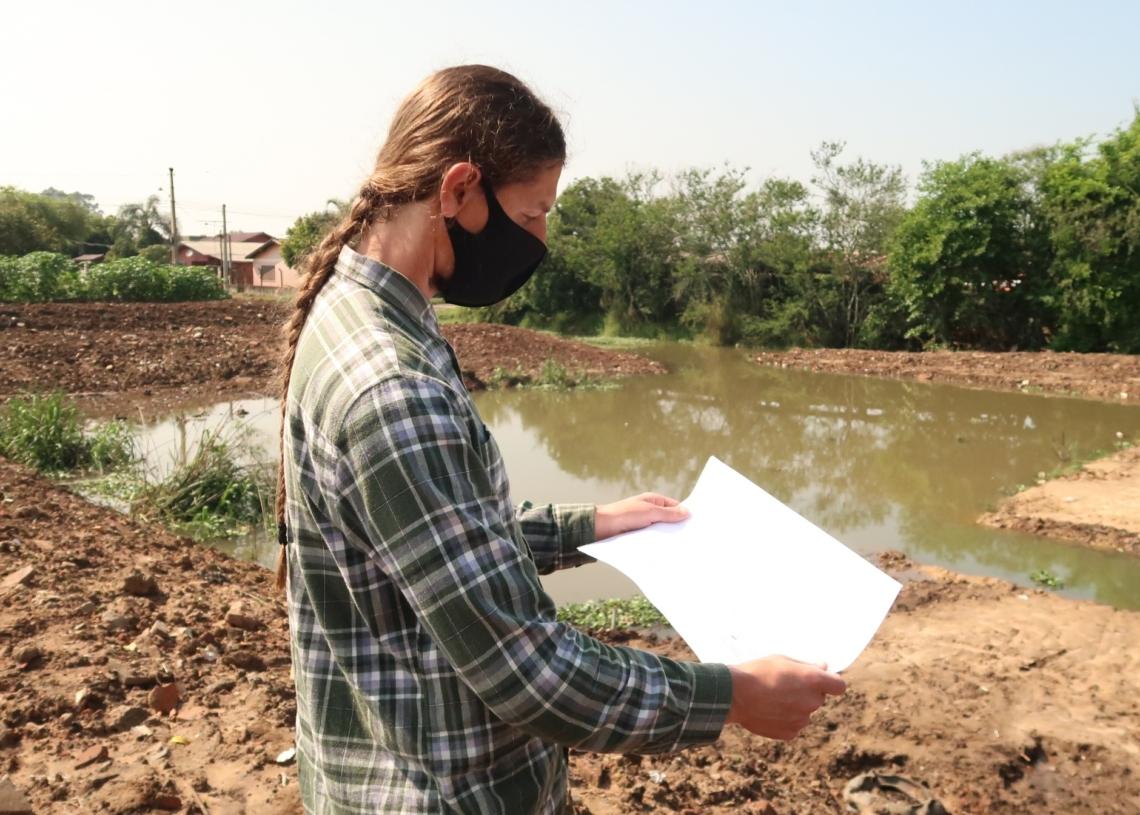 Secretário Jeferson Timm, biólogo responsável pela Secretaria de Meio Ambiente Foto: Reprodução Prefeitura de Campo Bom