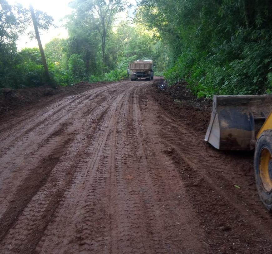 Região do Morro Canudos passou por manutenção Foto: Reprodução Prefeitura de Nova Hartz