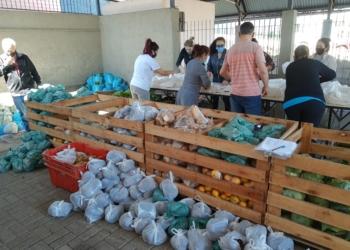Ação mobilizou diversos setores e funcionários da prefeitura e entidades Foto: PMS