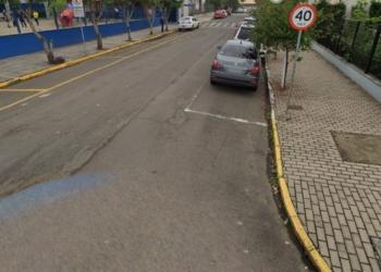 Rua Santo Inácio de Loyola é uma das que será recapeada Foto: Reprodução