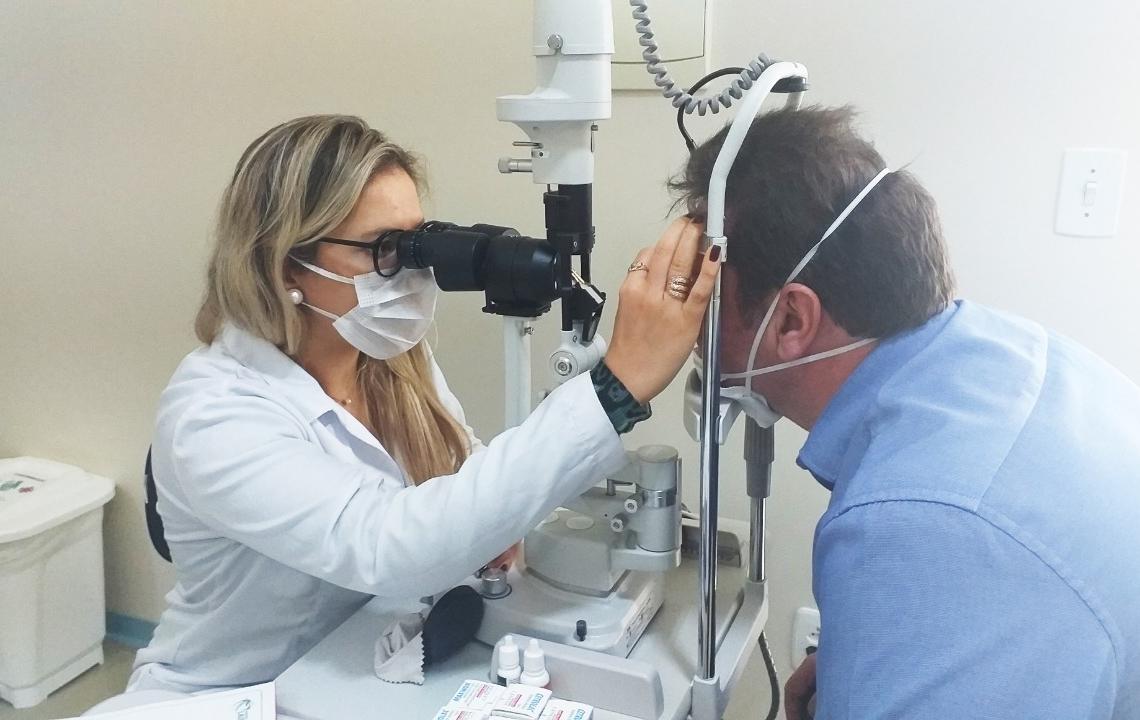 Serviço de oftalmologia é mais uma especialidade ofertada pelo Hospital dr. Lauro Reus, de Campo Lauro Reus, de Campo Bom | Foto: Hospital Lauro Reus