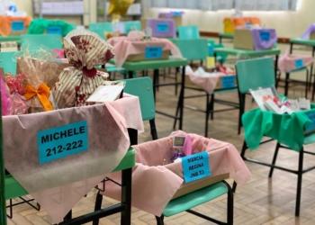 Caixa da saudade para homenagear os professoras (Foto Divulgação)