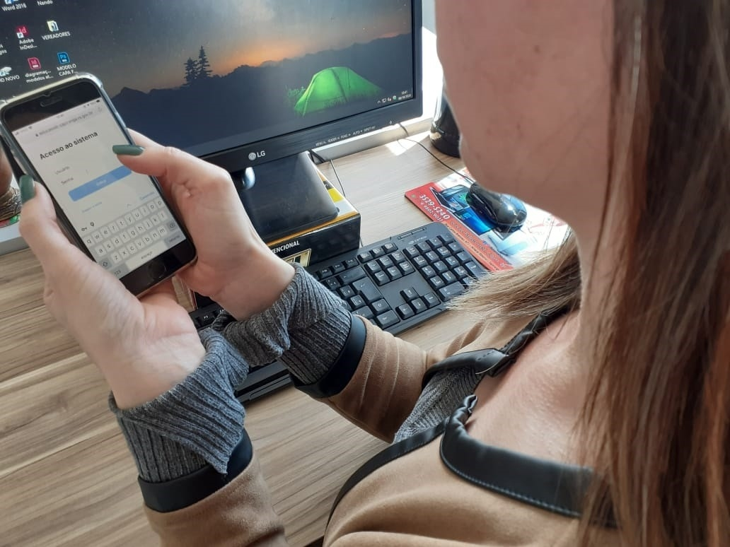 Inscrições, agora, podem ser fetas de forma on-line por aplicativo no celular ou computador Fotos: Melissa Costa