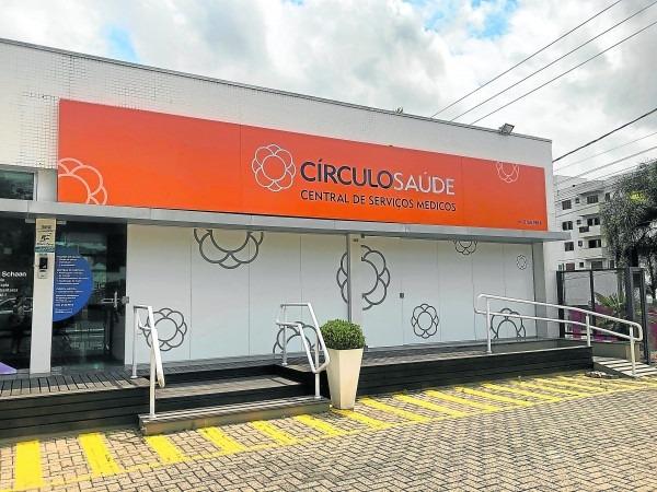 Central de Serviços Médicos do Círculo, em Taquara, está localizada na Rua Emílio Esteves  Foto: Reprodução