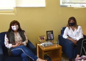 Prefeita Corinha e Rosane selaram a parceria entre o município e o novo empreendimento Foto: Divulgação