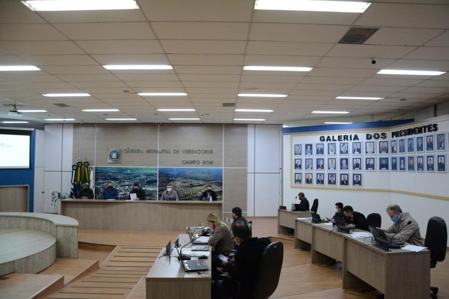 Foto: Assessoria Câmara de Vereadores/CB