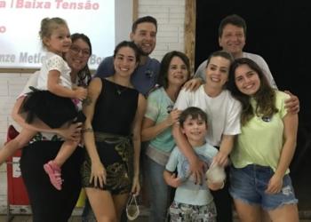 A união da família é a base da vida de Luciano e Kátia (Foto: Ana Carolina Seibel)