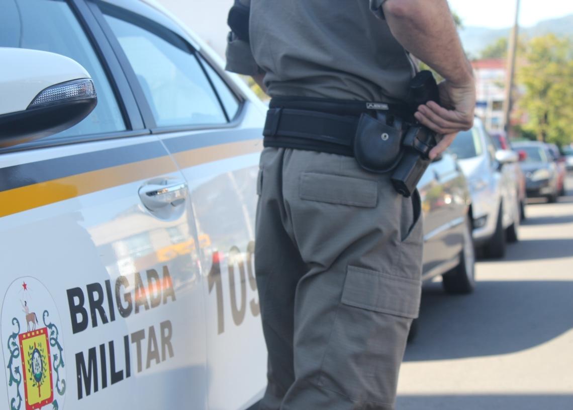 Brigada Militar cada vez mais presente de forma ostensiva ajuda a inibir a criminalidade Foto: Melissa Costa