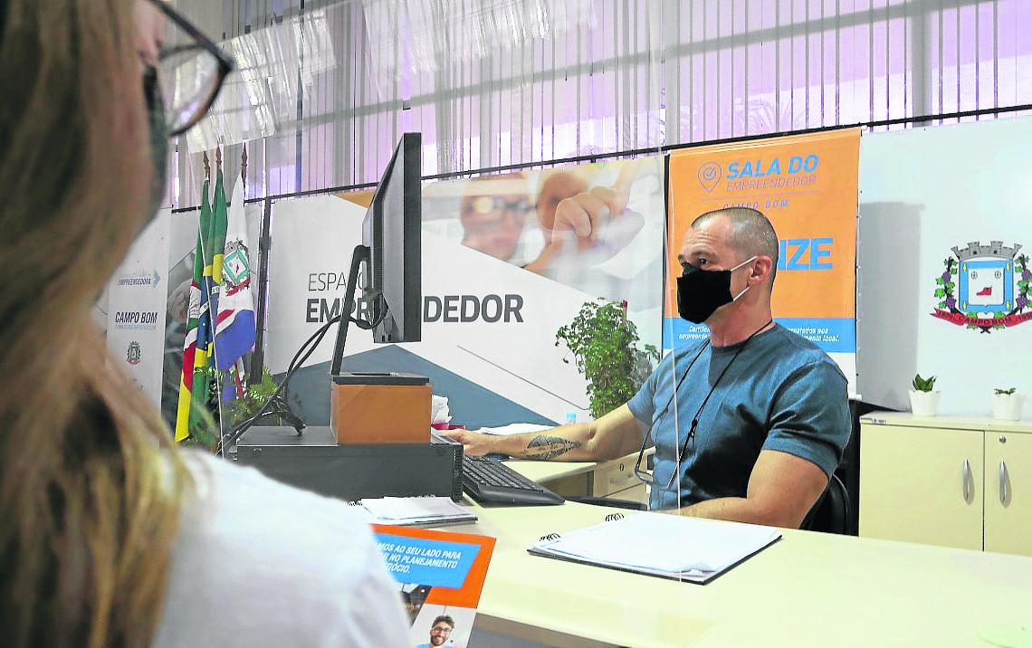 Processos ganharam celeridade durante a pandemia  Foto: Prefeitura de Campo Bom